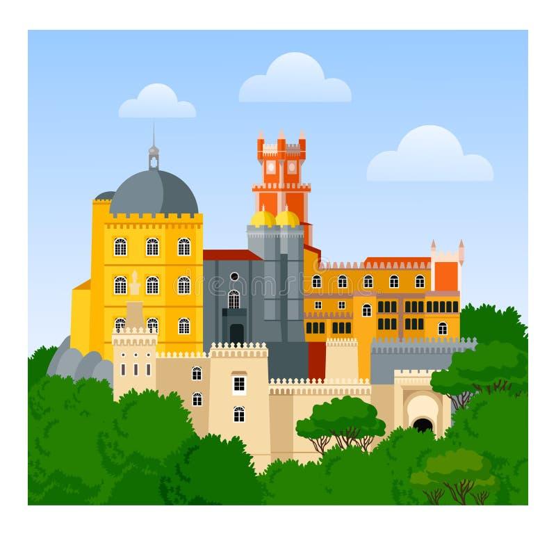 贝纳宫殿 皇族释放例证