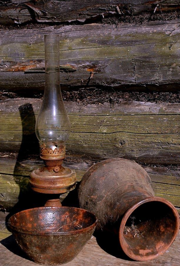 贝蒂碗水罐闪亮指示 免版税库存图片