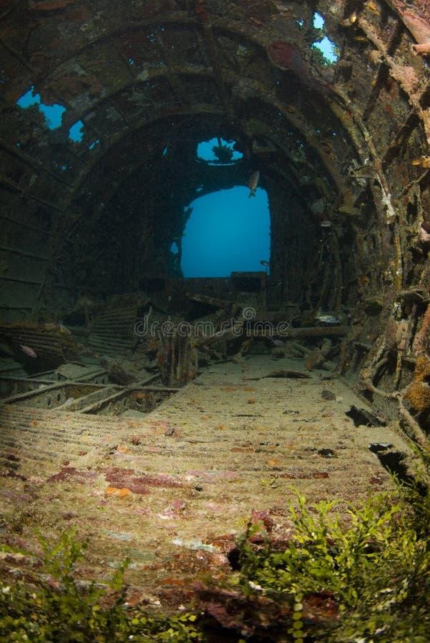贝蒂轰炸机内部 库存照片