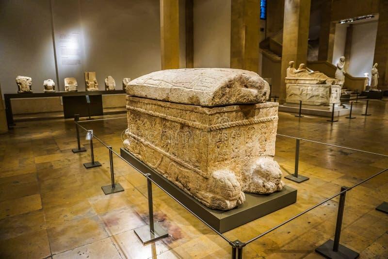 贝鲁特国家博物馆20 免版税库存图片