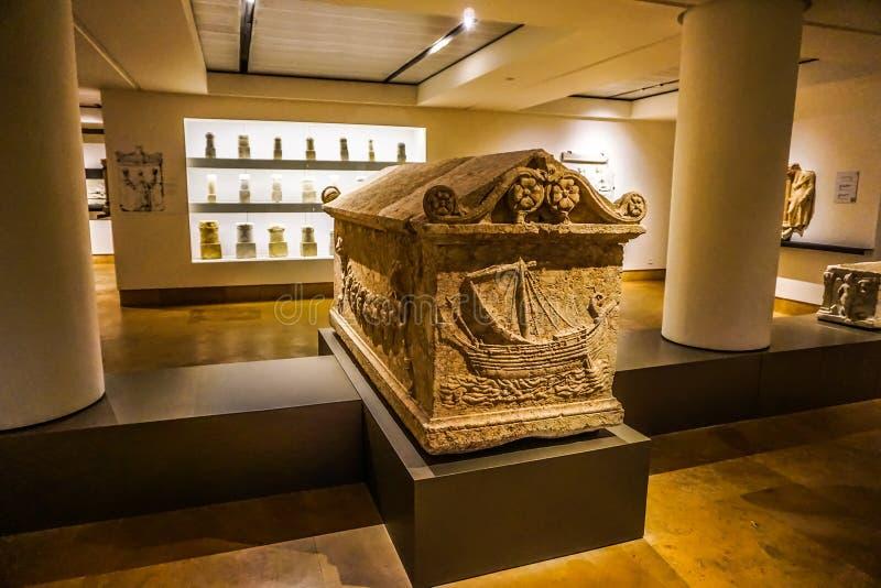 贝鲁特国家博物馆22 免版税库存图片
