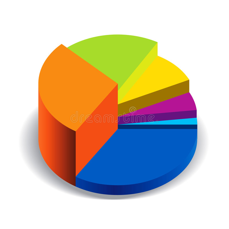 财务例证 向量例证