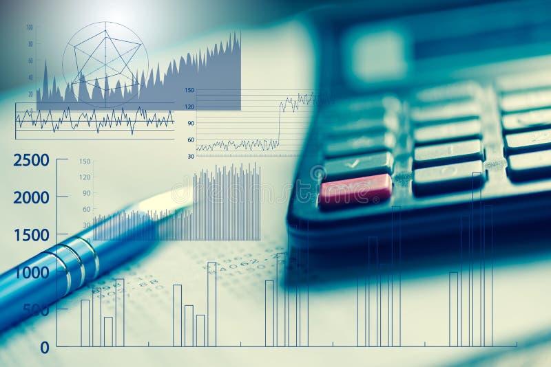 财务分析的概念 库存图片