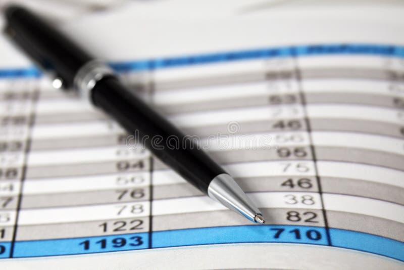 财务分析 免版税库存照片
