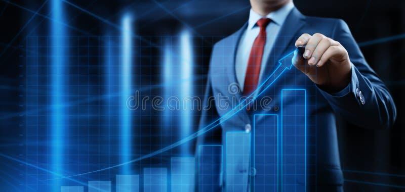 财务图形 股市图 外汇投资企业互联网技术概念 库存照片