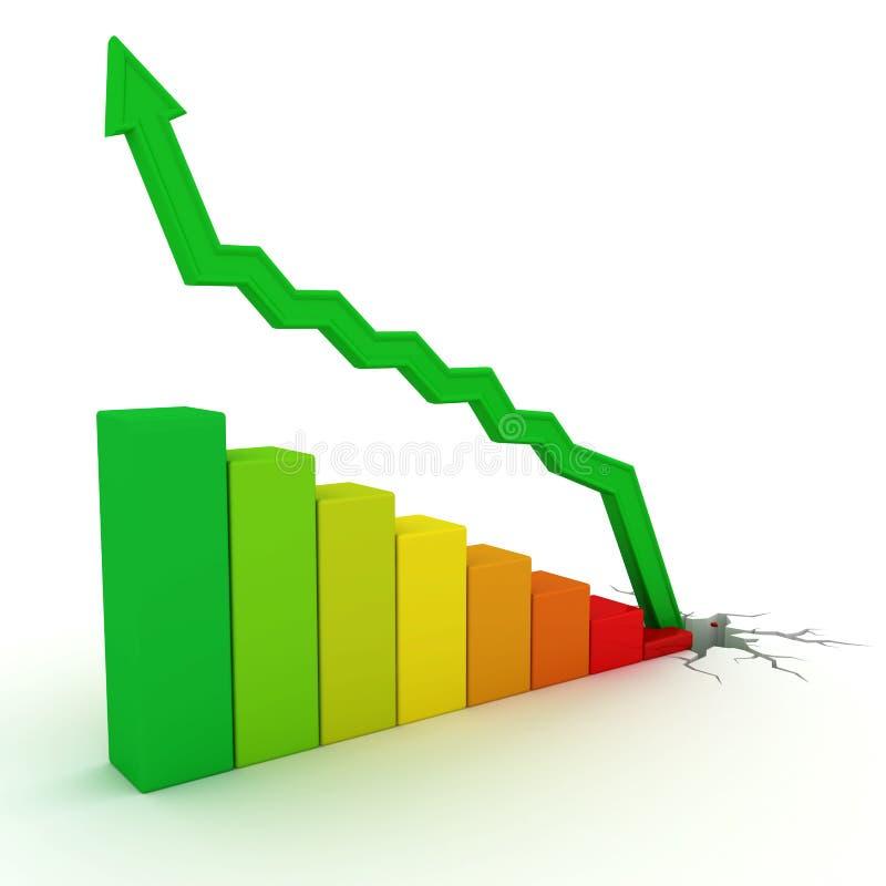 财务增长 向量例证