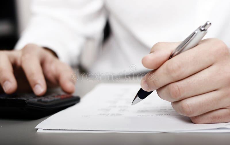 财务收益税务 库存图片