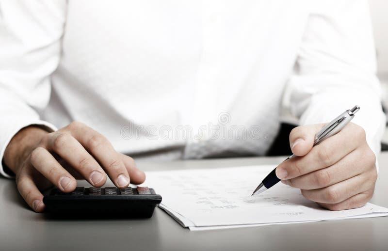 财务收益税务 图库摄影