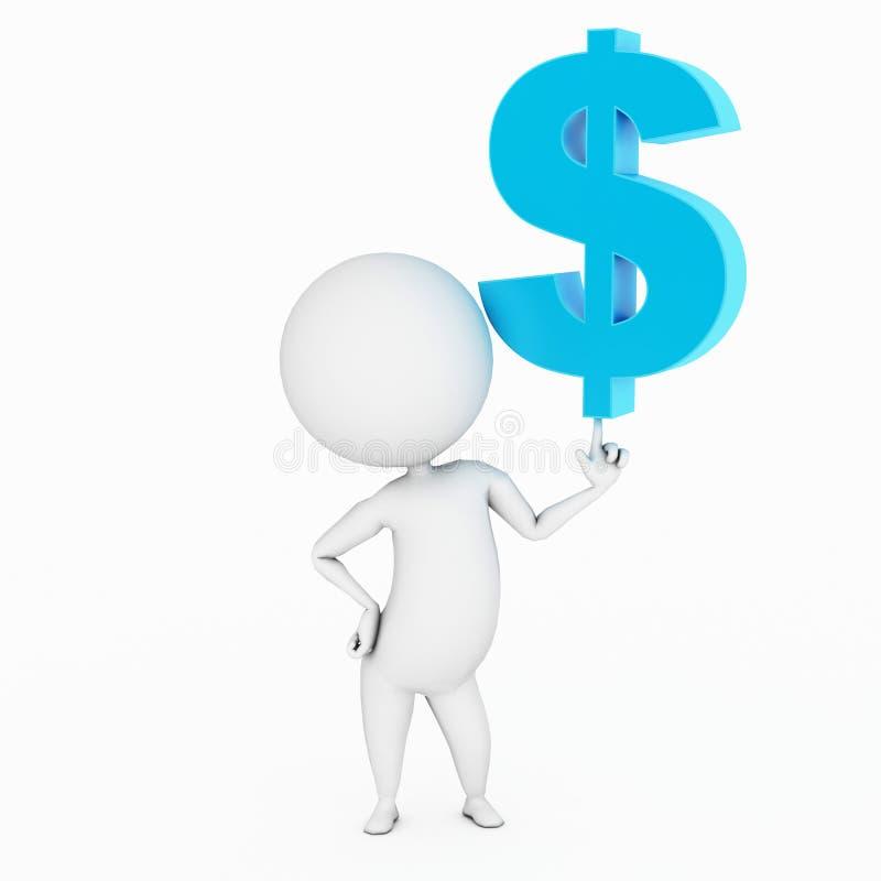 财务的商业 库存例证
