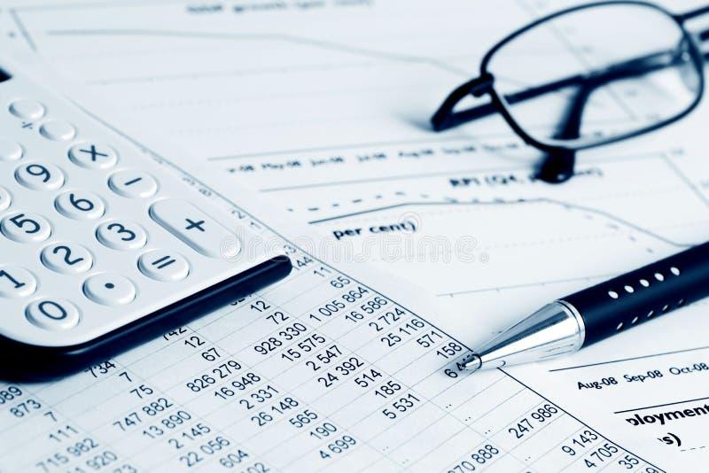 财务的平衡 免版税图库摄影