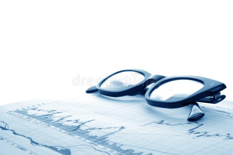 财务预测 免版税图库摄影