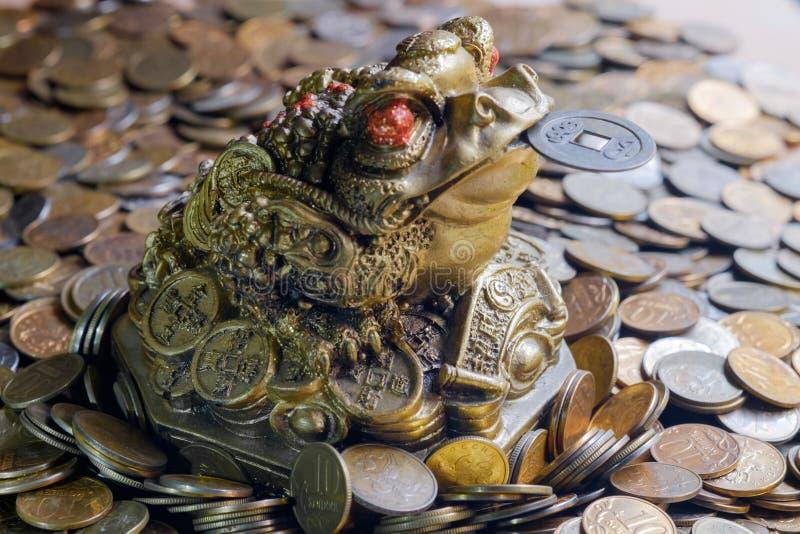 财富的中国标志 免版税库存照片