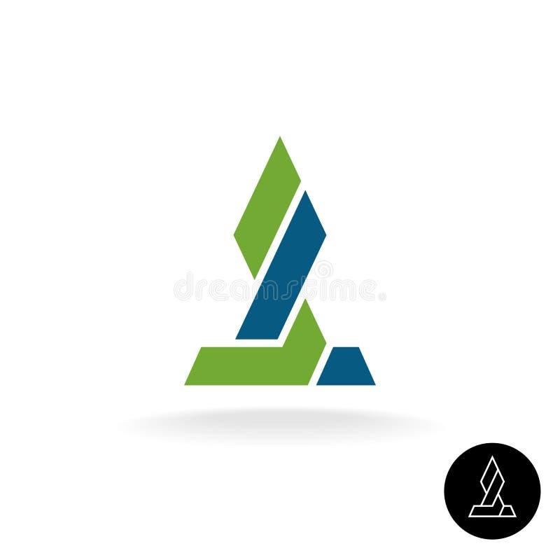 财政商标概念 力量键路连接巨大的标志 库存例证