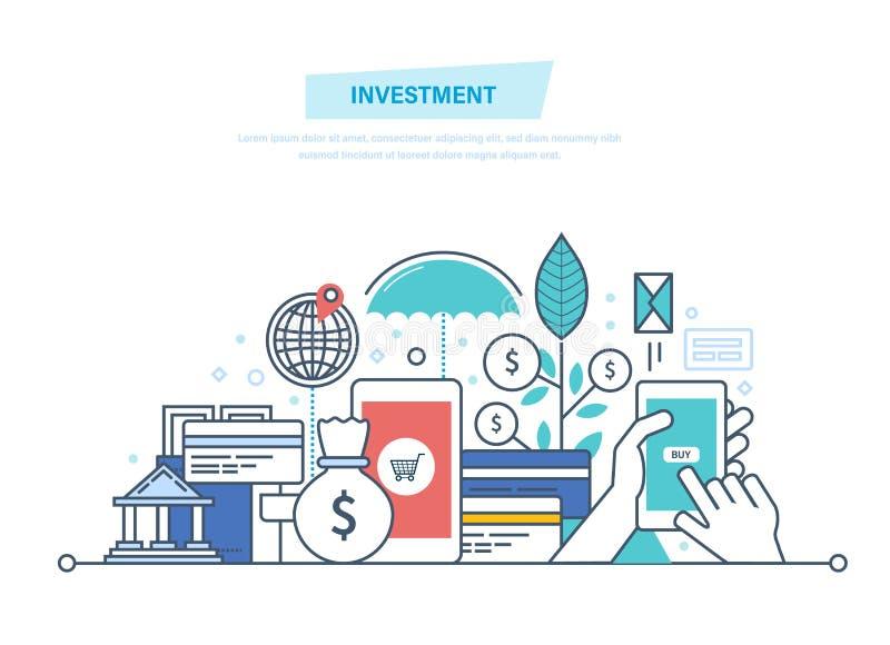 财政聪明的投资,财务,银行业务,营销,市场数据逻辑分析方法,安全 皇族释放例证