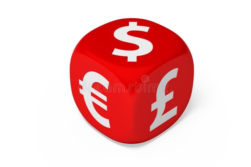 货币中断 库存图片
