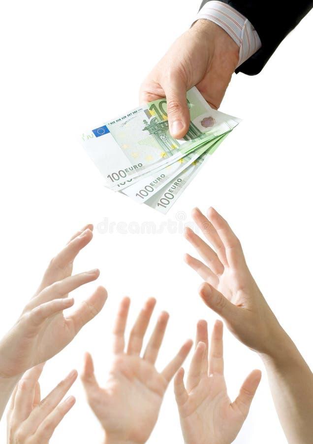 货币仓促 免版税库存图片