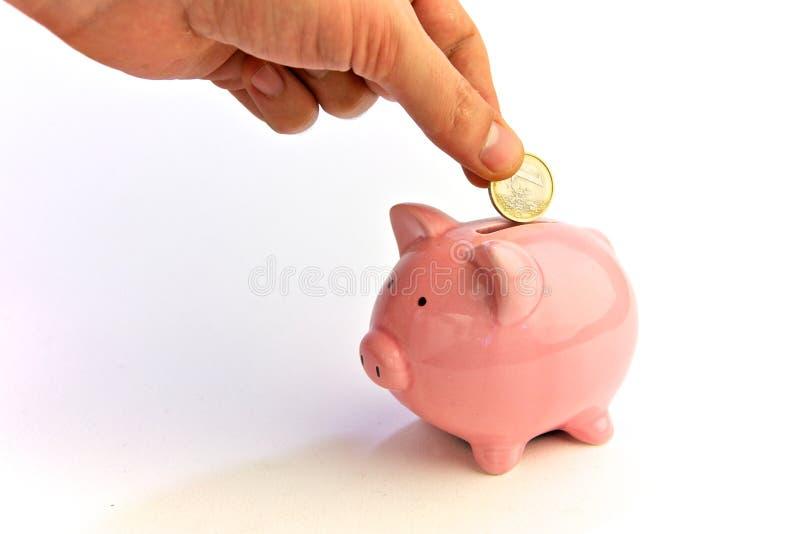 货币保存 库存图片