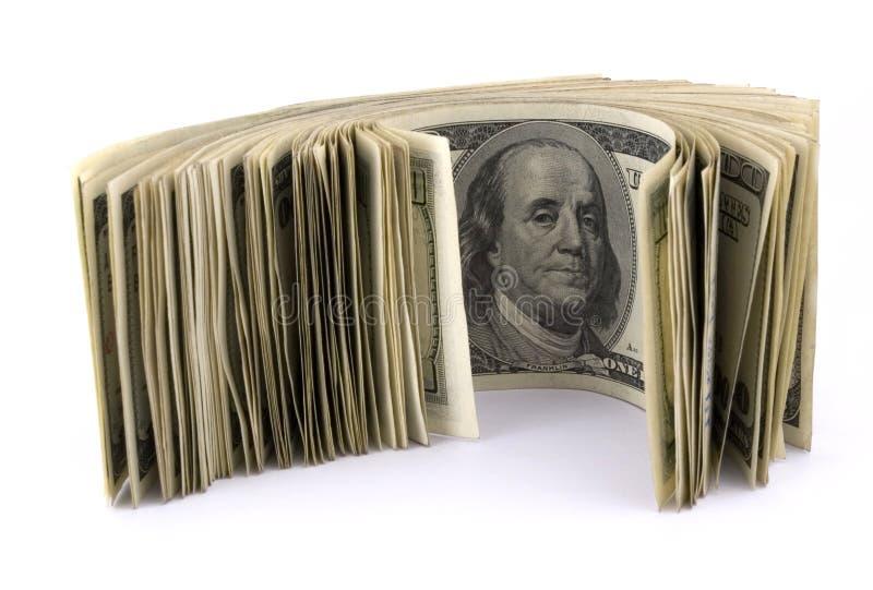货币卷  图库摄影