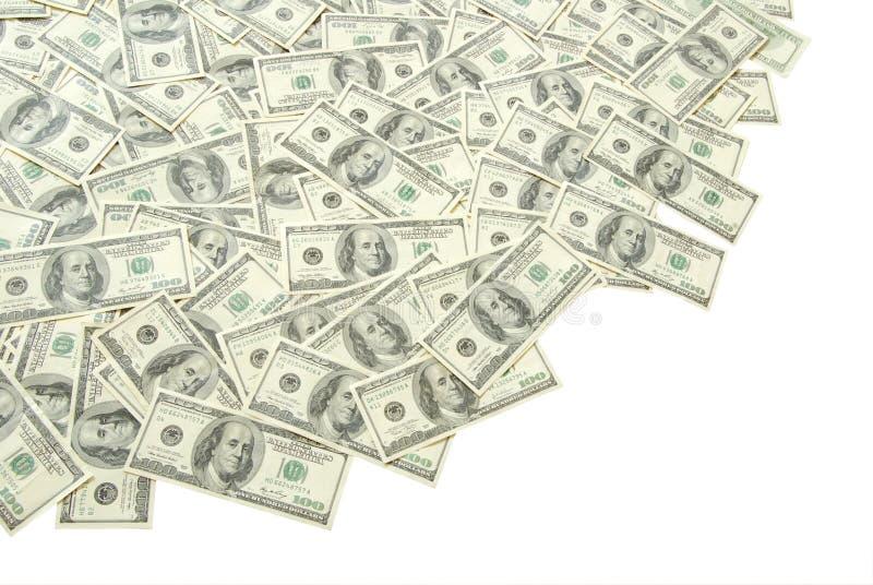 货币堆 免版税图库摄影