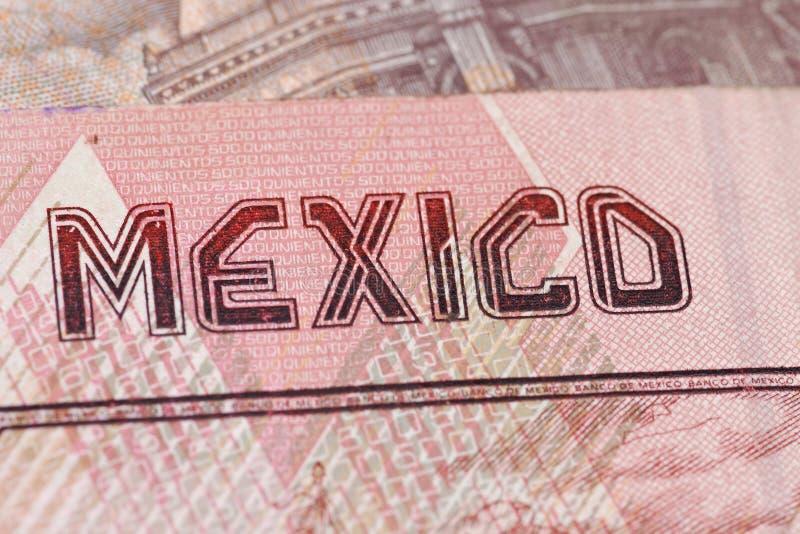 货币墨西哥 图库摄影