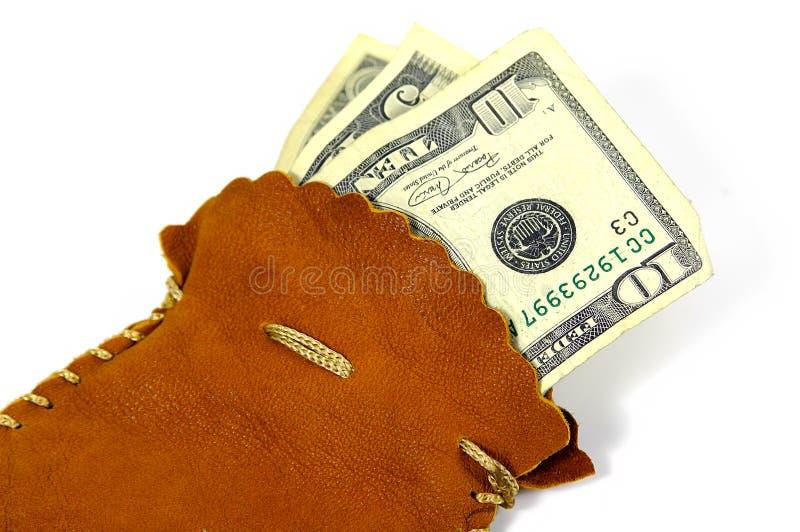 货币大袋 免版税库存照片