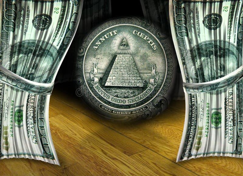 货币性能 免版税图库摄影