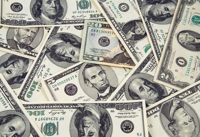 货币我们 库存图片