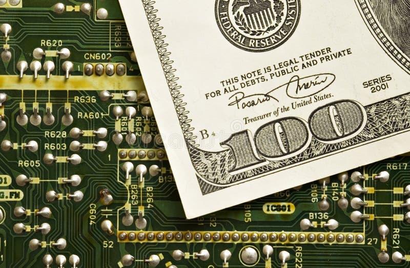 货币技术 免版税库存图片