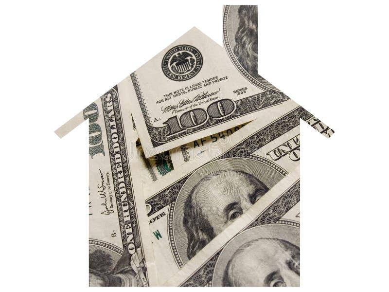 货币抵押 免版税库存图片