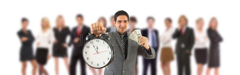货币时间 免版税图库摄影