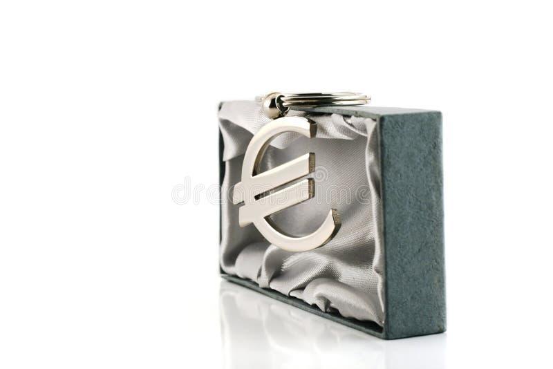 货币欧元符号 库存照片