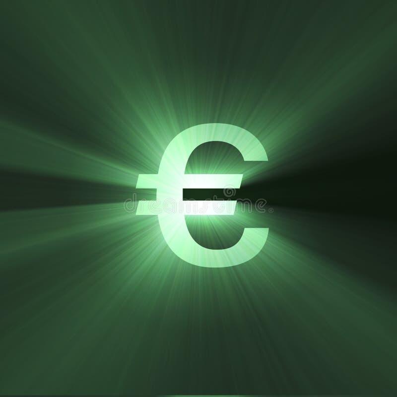 货币欧洲火光光符号 皇族释放例证
