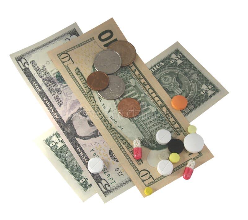 货币片剂 免版税库存图片
