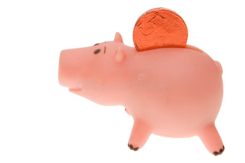 货币甜点 免版税图库摄影