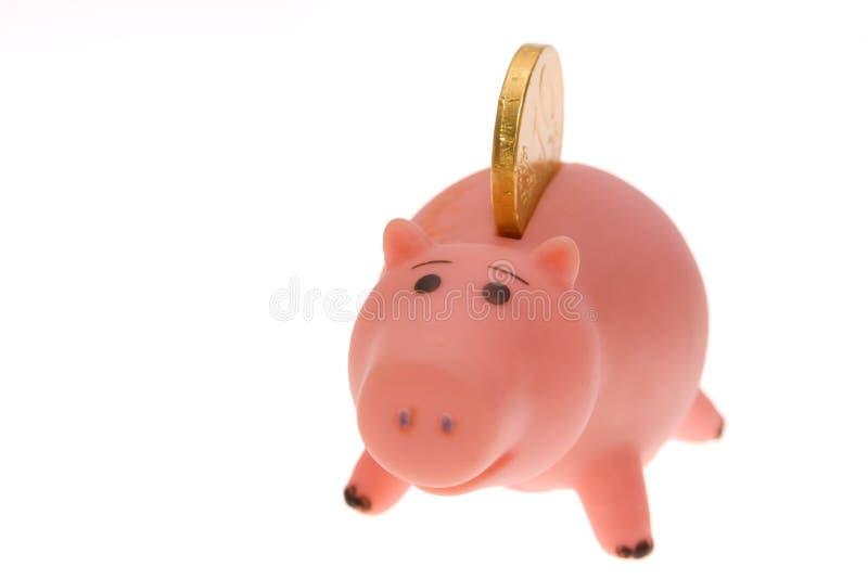 货币甜点 免版税库存图片
