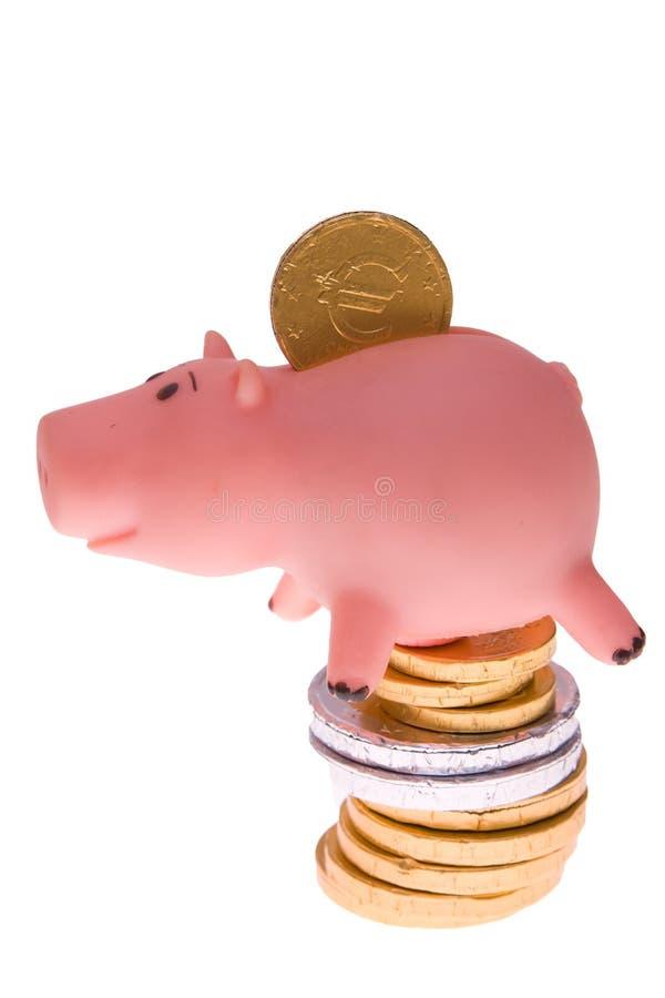 货币甜点 库存图片