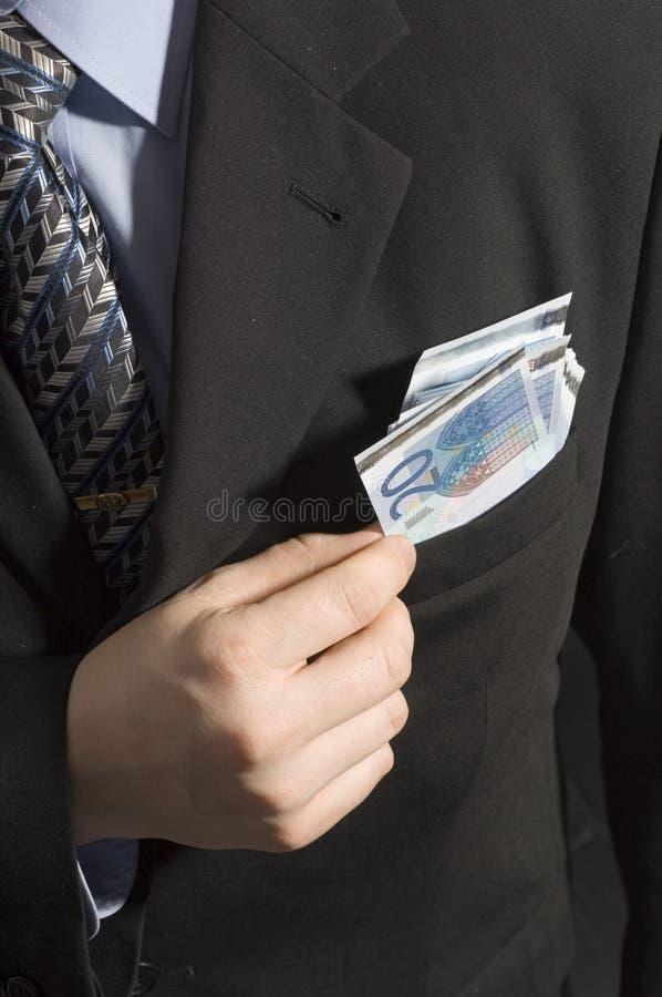 货币矿穴 免版税库存图片