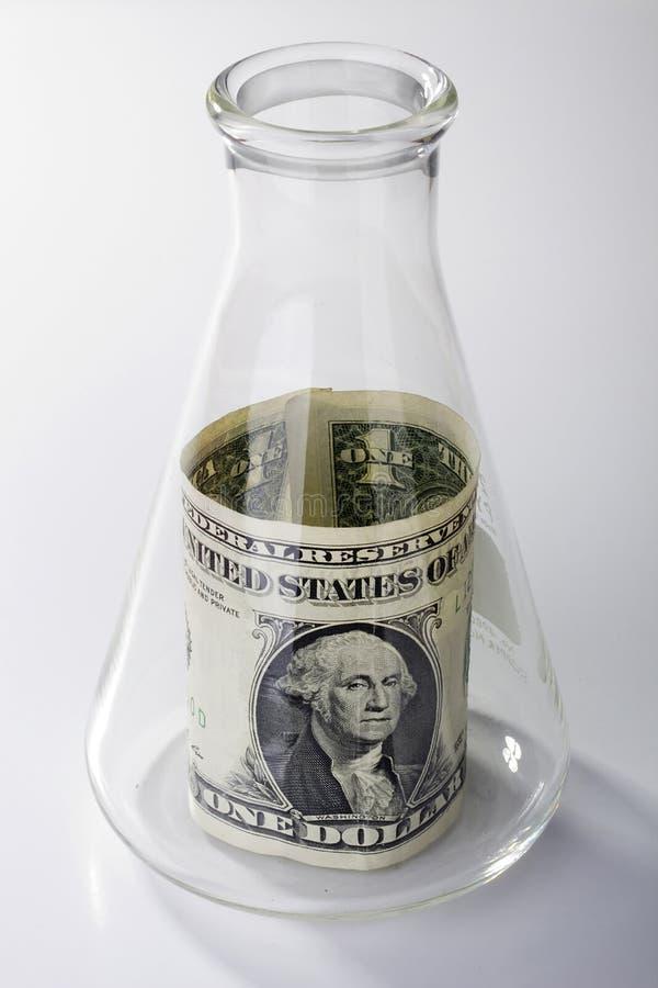 货币研究 库存照片