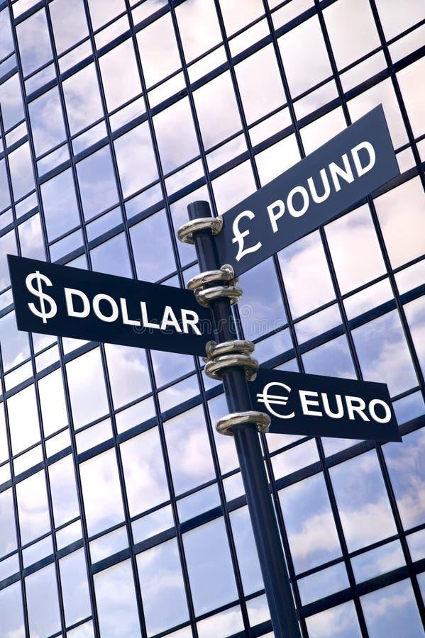 货币符 免版税图库摄影