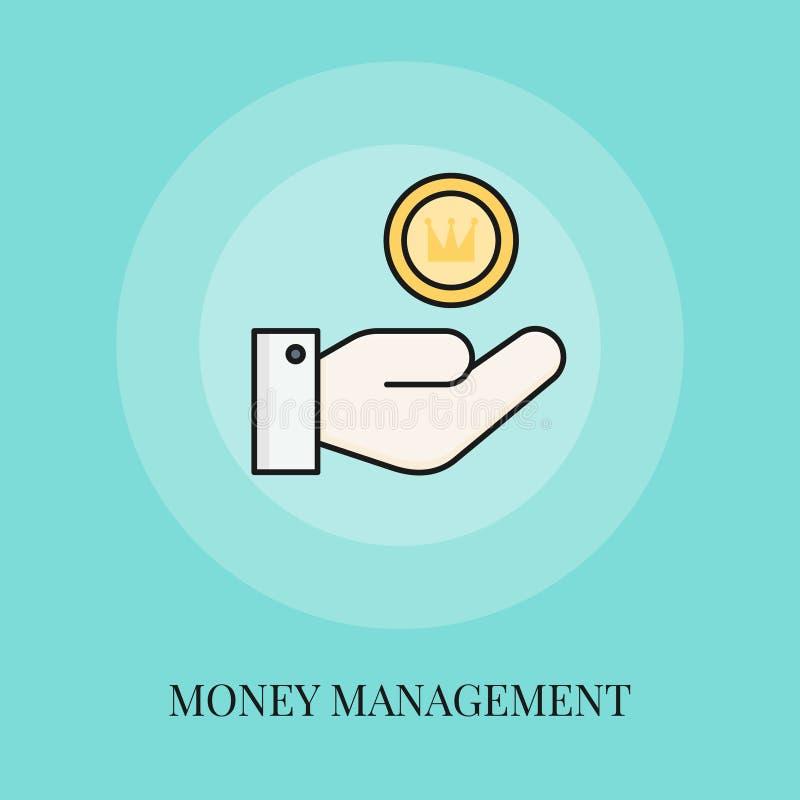 货币管理概念象 库存例证