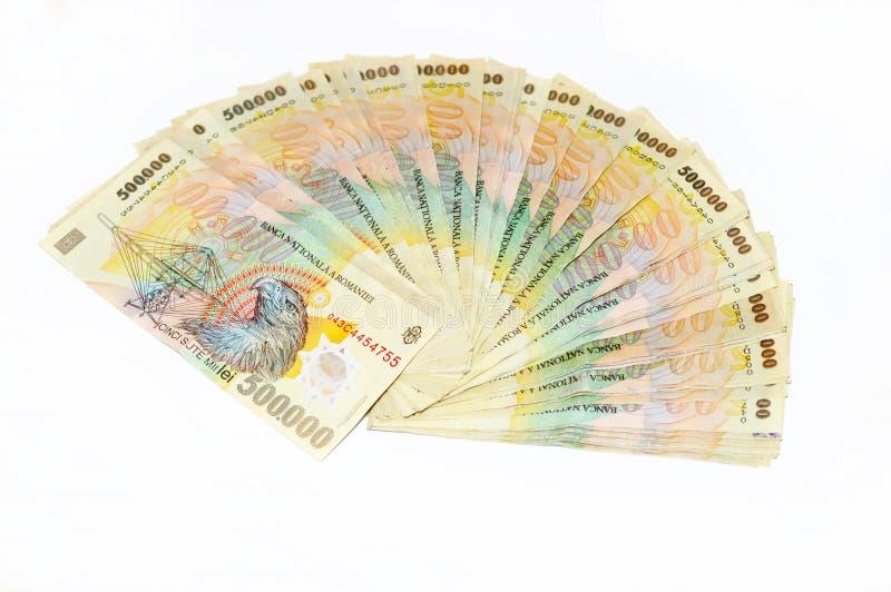 货币罗马尼亚语 免版税图库摄影