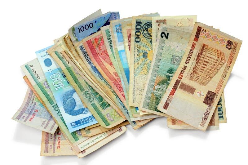货币老纸张 免版税库存图片