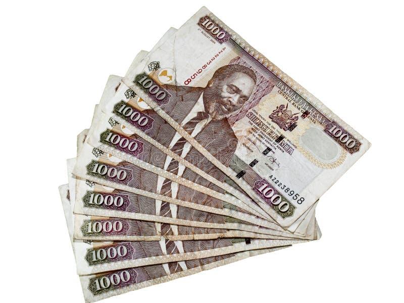 货币肯尼亚人 免版税库存照片
