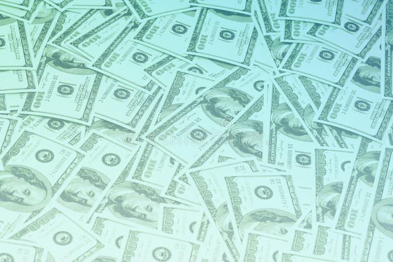 货币背景,百元钞票 库存图片