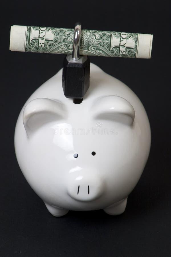 货币获取您 免版税库存照片