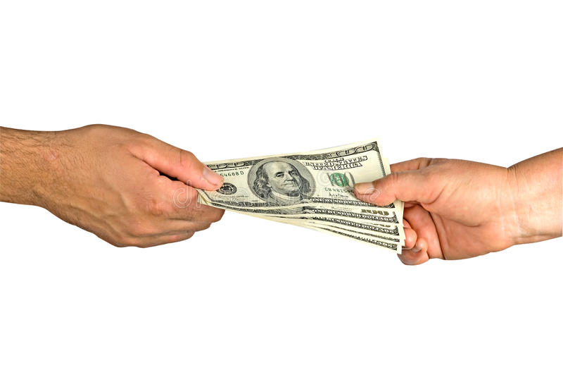 货币调用  免版税图库摄影