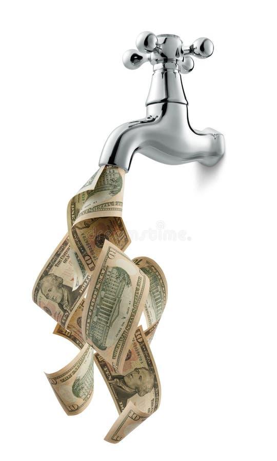 货币轻拍 免版税库存照片