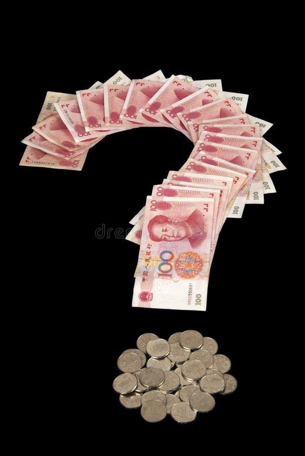 货币问题 库存照片