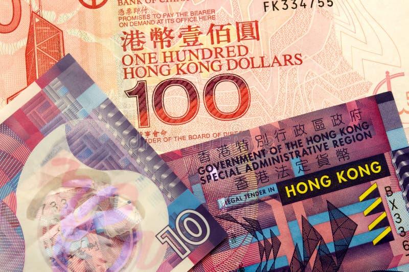 货币香港 免版税库存照片