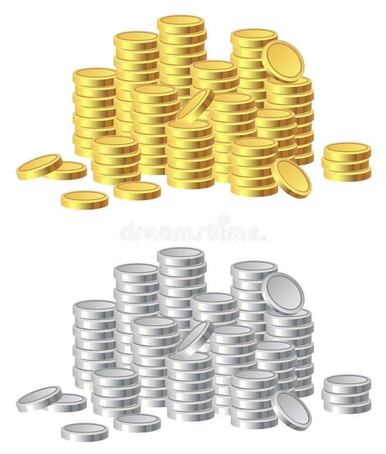 货币 库存例证